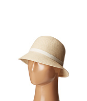 LAUREN Ralph Lauren - Cloche Hat w/ Leather Belt