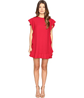 RED VALENTINO - Crepe Envers Satin Dress