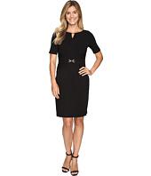 Ellen Tracy - Luxe Stretch Dress w/ Keyhole