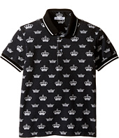 Dolce & Gabbana Kids - Crown Polo (Toddler/Little Kids)