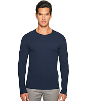 Vince - Raw Edge Solid Long Sleeve T-Shirt