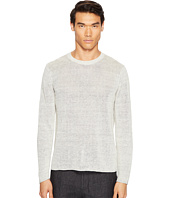 Vince - Raw Edge Long Sleeve Crew Neck Sweater