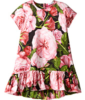 Dolce & Gabbana Kids - Rose Interlock Dress (Toddler/Little Kids)