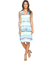 Nally & Millie - Sleeveless Tie-Dye Stripe Dress