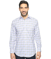 Thomas Dean & Co. - Long Sleeve Dobby Check Sport Shirt