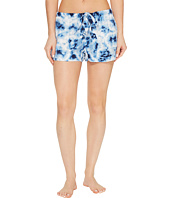 P.J. Salvage - Blue Batik Shorts