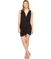 Culture Phit - Merritt Sleeveless Ruched Crossover Dress