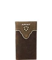 Ariat - Shield Cut Out Overlay Rodeo Wallet