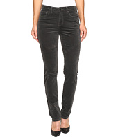 FDJ French Dressing Jeans - Olivia Slim Leg Plush Cord in Slate