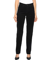 FDJ French Dressing Jeans - Suzanne Straight Leg Plush Cord in Black