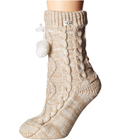 UGG - Pom Pom Fleece Lined Crew Sock