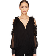 THOMAS WYLDE - Bluebell Cold Shoulder Long Sleeve Top
