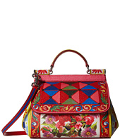 Dolce & Gabbana - Printed Leather Miss Sicily Mini Bag
