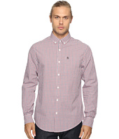 Original Penguin - Long Sleeve Core Tricolor Gingham Woven Shirt