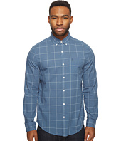 Original Penguin - Long Sleeve Lawn Windowpane Woven Shirt