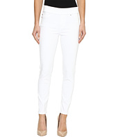 Liverpool - Sienna Pull-On Ankle Slub Stretch Twill in Bright White