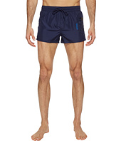 Diesel - Sandy Quick Dry Light Microfiber 2 inch Swim Shorts w/ Mohican Head Graphic WAKV