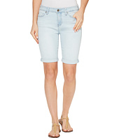 Liverpool - Hayden Rolled-Cuff Bermuda Vintage Super Comfort Stretch Denim in Boulder Bleach Out
