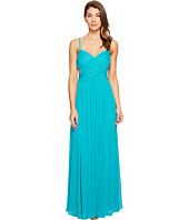 Laundry by Shelli Segal - Crisscross Front Pleated Gown