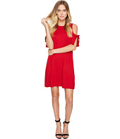 kensie - Drapey French Terry Dress with Cold Shoulder KS2K7541
