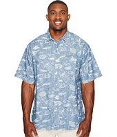 Tommy Bahama Big & Tall - Big & Tall Marlin Party Camp Shirt