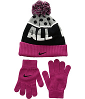 Nike Kids - Attitude Knit Beanie & Gloves Set (Little Kids/Big Kids)