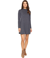 Brigitte Bailey - Alayna Long Sleeve Mock Neck Shift Dress