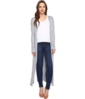 Culture Phit - Lynsey Button Up Long Cardigan with Slits