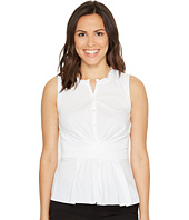 Rebecca Taylor - Sleeveless Poplin Wrap Top