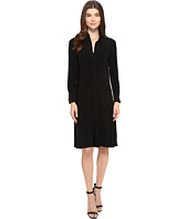KAMALIKULTURE by Norma Kamali - NK Shirt Swing Dress To Knee