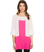 Vince Camuto - Elbow Sleeve Color Blocked Blouse