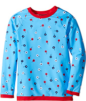 Oscar de la Renta Childrenswear - Mini Daisy Toss Rashguard (Toddler/Little Kids/Big Kids)