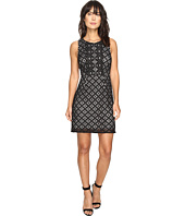 kensie - Graphic Geo Lace Dress KS3K7729