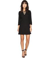 kensie - Rib Lace-Up Dress KS2U7007