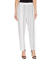 Vince Camuto - Pencil Stripe Slim Leg Pull-On Pants