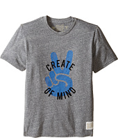 The Original Retro Brand Kids - Create Peace of Mind Tri-Blend Tee (Big Kids)