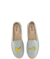 Soludos - Banana Embroidered Platform Smoking Slipper