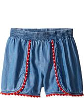 Kate Spade New York Kids - Pom Trim Shorts (Big Kids)