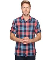 Perry Ellis - Plaid Linen Shirt