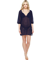Tommy Bahama - Dobby Tie-Front Tunic Cover-Up