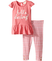 Kate Spade New York Kids - Hello Darling Leggings Set (Infant)