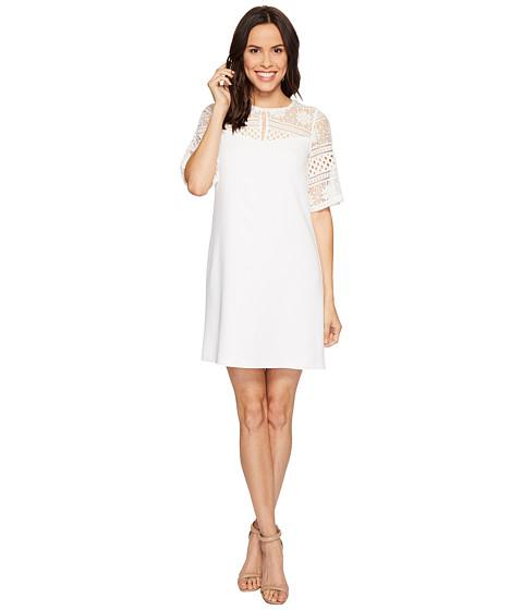 Adrianna Papell Cameron Textured Woven Shift Dress