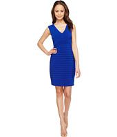 Adrianna Papell - Matte Jersey Banded Sheath Dress