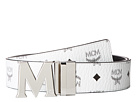Claus Reversible Silver Buckle Belt