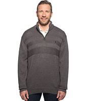U.S. POLO ASSN. - Long Sleeve 1/4 Zip Chest Texture