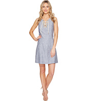 kensie - Cross Dye Linen Blend Dress KS5K7796