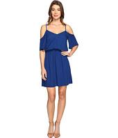 Splendid - Rayon Crosshatch Cold Shoulder Dress