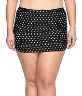LAUREN Ralph Lauren - Plus Size Dot Ultra Hi Waist Hipster