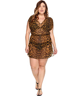LAUREN Ralph Lauren - Plus Size Leopard Tunic Cover-Up