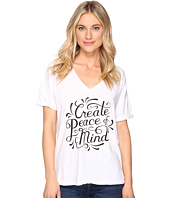 The Original Retro Brand - Create Peace of Mind Boyfriend V-Neck